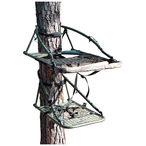 old man climbing deer stands ol outdoors 174 original camo multi vision tree stand 195646 climbing tree stands at
