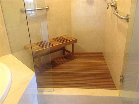 shower with shower teak shower seat is options the homy design