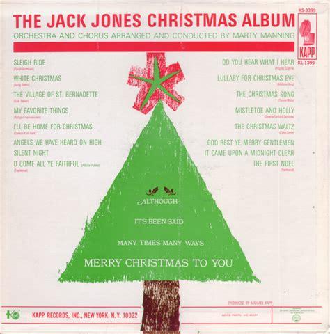 free message board aimoo jack jones 1964 christmas album the yule log com