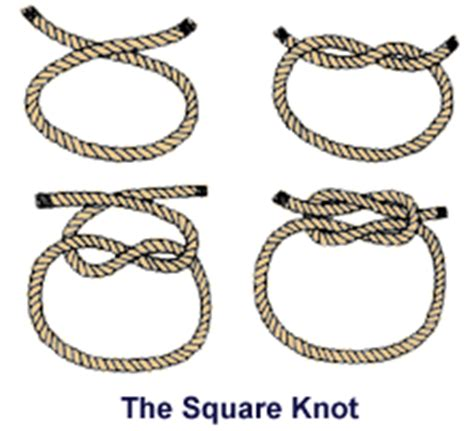 How To Make Square Knots - new scouts boy scout troop 274 avon connecticut