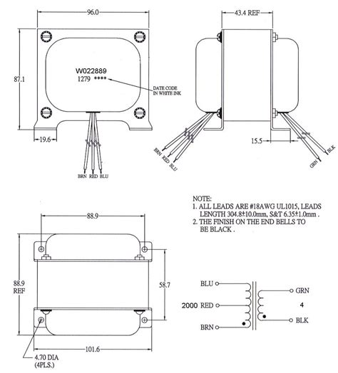 mercury magnetics transformer wiring diagram 44 wiring