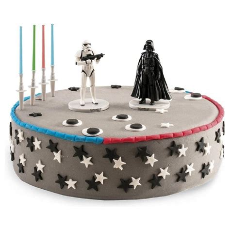 Wars Cake Decoration by Dekora Wars Stormtroopers Cake Topper Figure Dekora