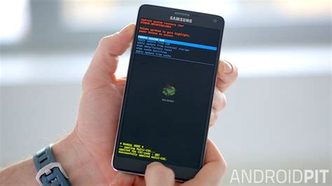 reset android note ripristinate le performance del vostro galaxy note 4 con