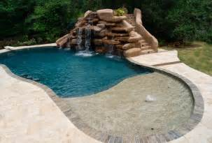 schwimmbad rutschen swimming pools houston archives 187 poolside designs inc