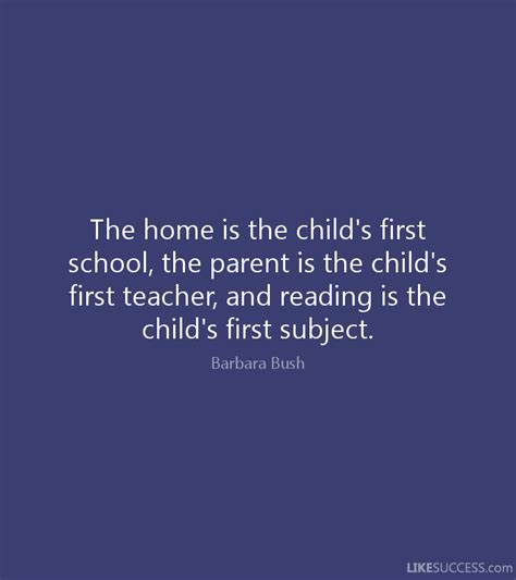 the ride home strategies to succeed for parents and coaches books the home is the child s school th by barbara bush