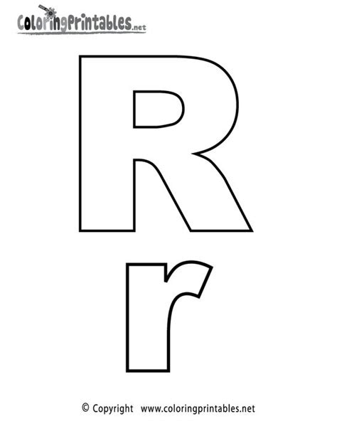 printable letters website alphabet letter r coloring page a free english coloring