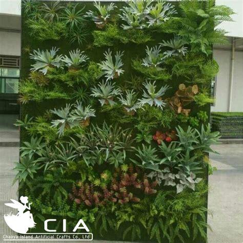 indoor decorative plants reception desk artificial decorative plastic plants wall