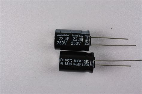 electrolytic capacitor memory effect 250me2r2faz