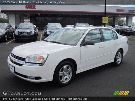 2005 chevy malibu change white 2005 chevrolet malibu lt v6 sedan gray interior