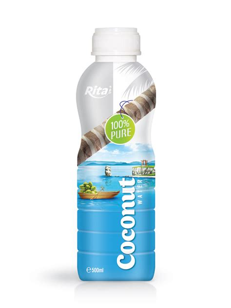 coconut 500ml 500ml coconut water 100 label beverages