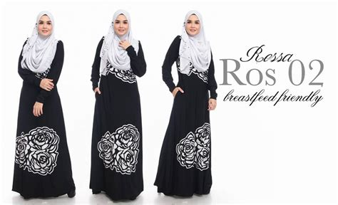 Busana Muslim Gamis Shejab Queena Dress Limited Edition Norzi Beautilicious House Jubah Rossa Limited Edition