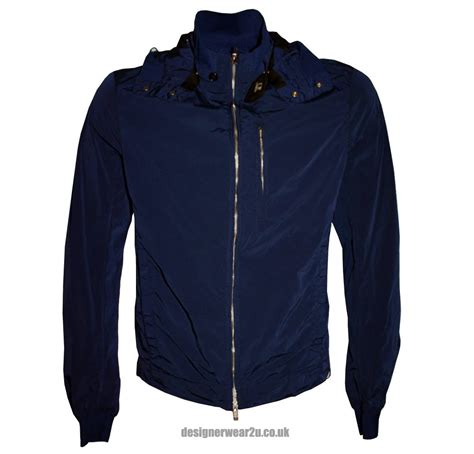 Cp Jaket cp company blue stretch bomber jacket with goggles jackets from designerwear2u uk