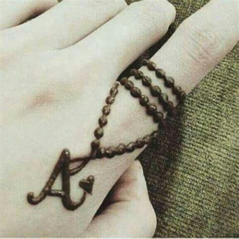 henna tattoo design letters latter quot a quot dp dpzzz mehndi designs