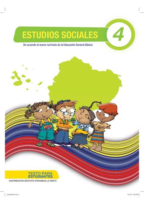 libro de cuarto ao basica ecuador sociales 4 by quito ecuador issuu