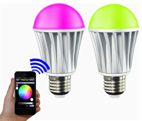 Smart Light Bulbs by Ios Android App Wifi Phone Rgbw Color Magic Led