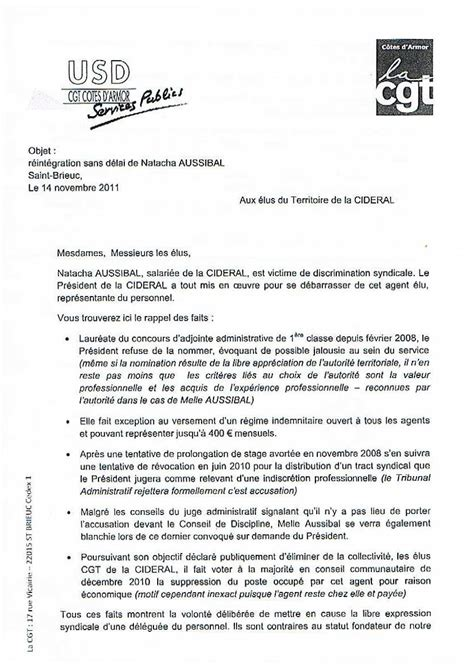 Exemple De Lettre Nomination Doc Exemple Lettre Nomination