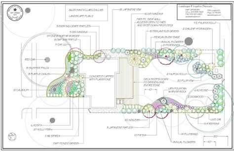 design a plan landscape design and planning plano dallas frisco