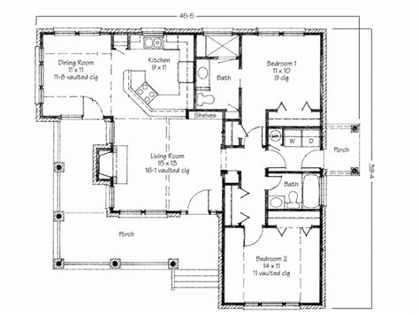 small home plans small 2 bedroom house plans and designs google search