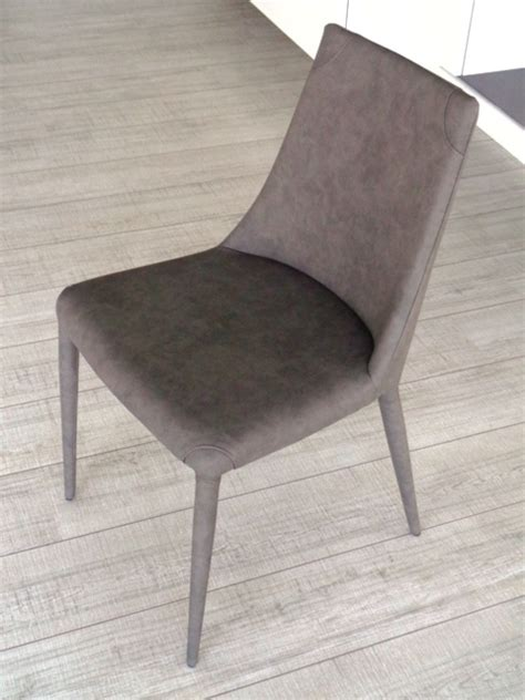 ozzio sedie ozzio sedia 4 sedie aperol imbottita e rivestita ecopelle
