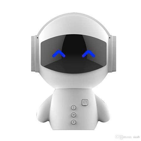 Power Bank Robot Smart Power robot bluetooth speaker with power bank new date mini portable robot smart blueototh speaker