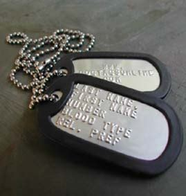 Name Plates Necklace Dogtagsonline Military Dog Tags And Pet Id Tags