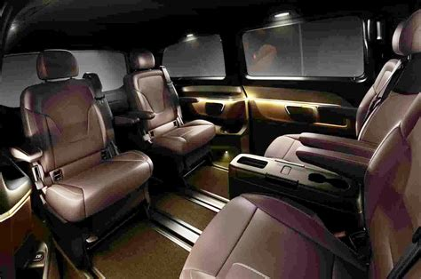 Home Story 2 by Mercedes Benz V Class W447 Interior Revealed Image 205788