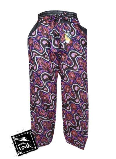 Celana Kulot Panjang Katun Murah B30417005mot3bru Bawahan Batik celana batik wanita panjang motif batik etnik bawahan