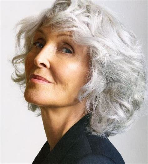 pictures of hair grey 60 silver hair color for hairstyles for women over 60