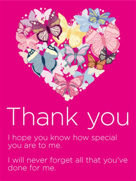 How To Thank Someone For Gift Card - to my special someone thank you card birthday greeting cards by davia
