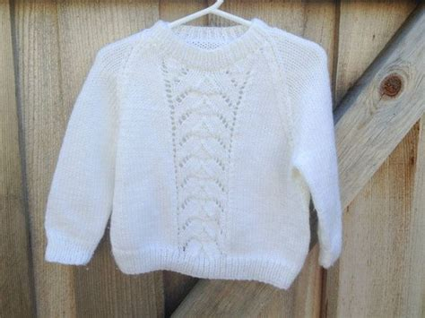Handmade Sweater Ideas - handmade white sweater 2t3t by lishyloo on etsy 9 00