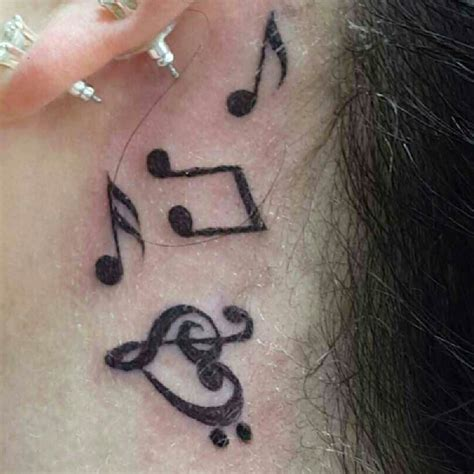 simple tattoo music 26 music heart tattoos designs ideas design trends