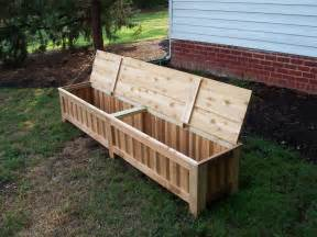 Diy Banquette Seating Ikea Hand Made Custom Western Red Cedar Patio Storage Bench By