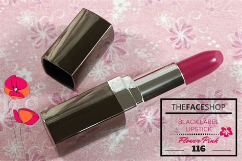 The Shop Pink Lipstick the shop black label lipstick 116 review ang savvy