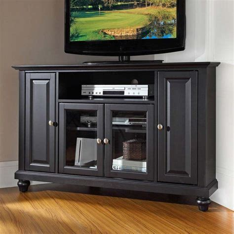 shaker style tv stand plans home design ideas luxamcc crosley 60 inch corner tv cabinet stand black tv stand