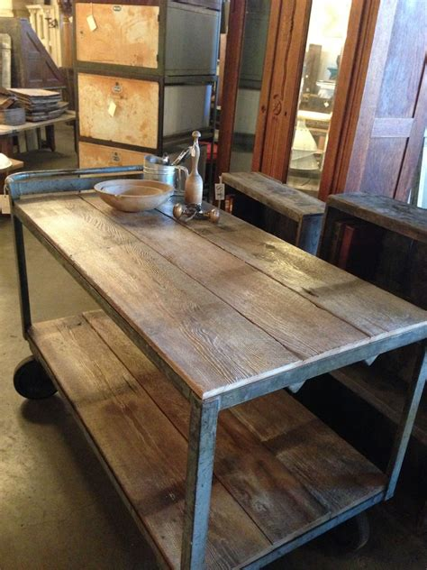 reclaimed kitchen island 27 vintage wooden kitchen island design ideas interior god