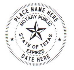 Notary Tx Jrsoftseal Tx Notary Seal St Shop Central