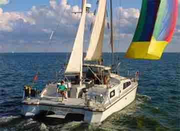 catamaran solaris 42 a vendre 42 catamran for sale solaris blue water cruiser