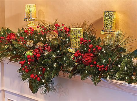 christmas decorating ideas mantel decor improvements blog