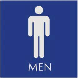 Mens Bathroom Sign Restroom Signs Printable Clipart Best