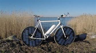 Energy Efficient Home Design Plans engineer jesper frausig designs the innovative solar bike