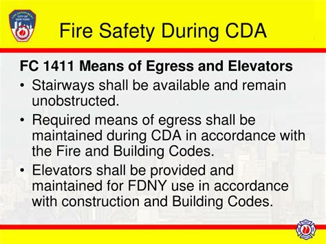 code section 1411 ppt new york city fire code powerpoint presentation id