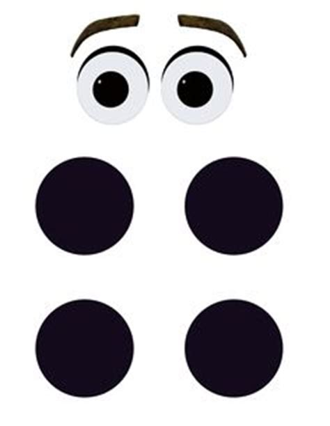 printable olaf eyes this is a simple image of olaf s face that i used as an