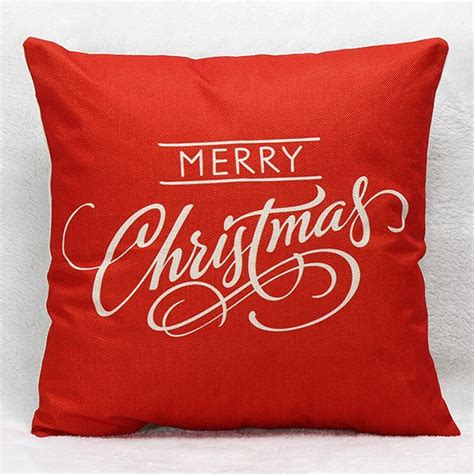 Merry Pillow by Decorative Pillows Shams Merry Letters Pillow Gamiss