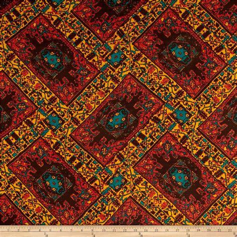 aztec print upholstery fabric chiffon blurred aztec print mustard discount designer