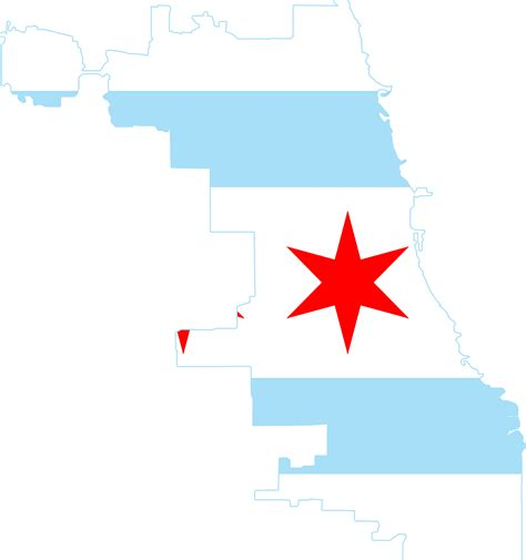chicago map png file flag map of chicago png wikimedia commons