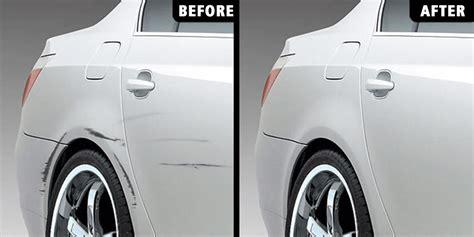 light scratches on car conejo valley auto bumper paint scratch repair dent