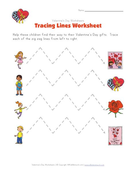s day worksheet s day tracing zig zag lines worksheet