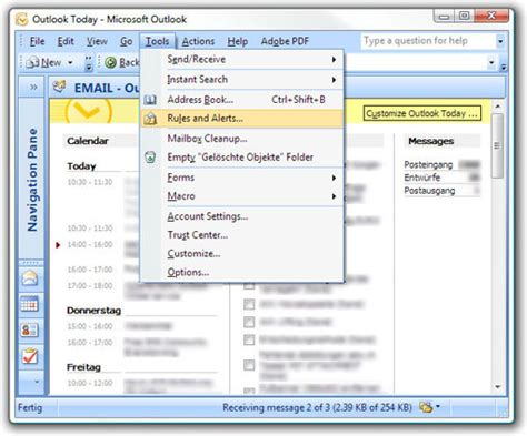 aspsms com microsoft office outlook 2007 outlook