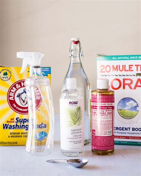 Diy Stain Remover Spray Hellonatural Co