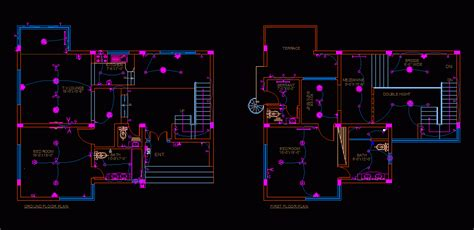 home electrical dwg block  autocad designs cad